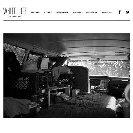 WHITE LIFE Interview