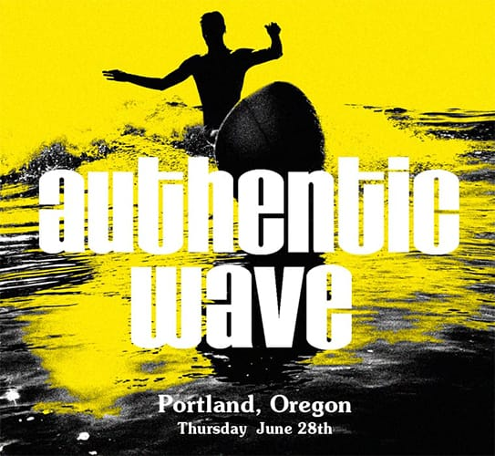 Authentic Wave Book Signing Tour in Portland, Oregon