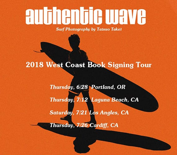 Authetic Wave West Coast Book Signing Tour